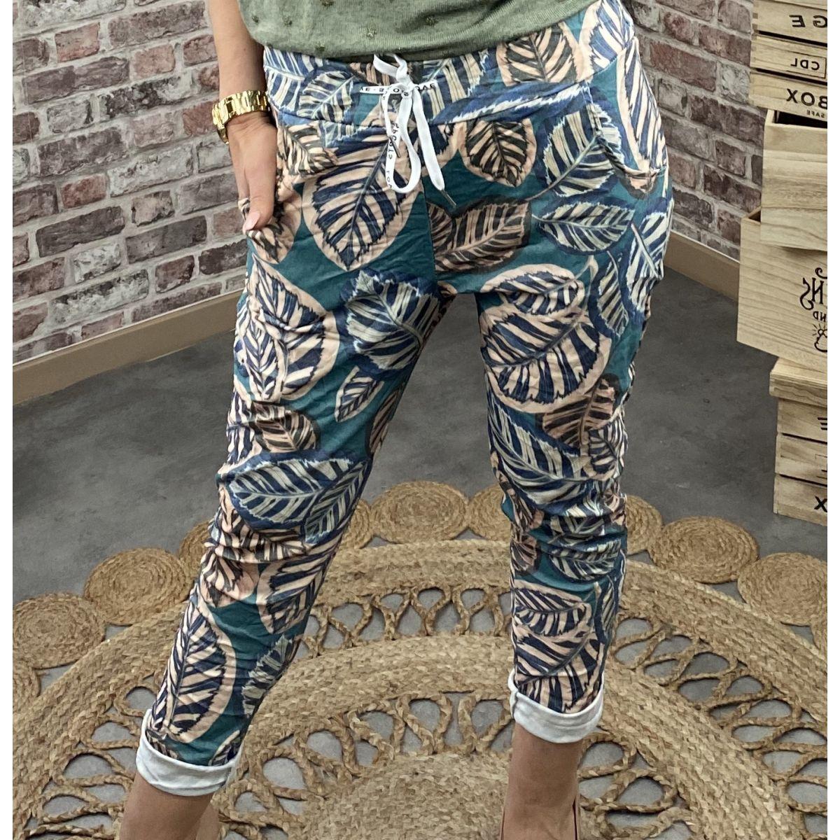 Pantalon coupe swag jungle